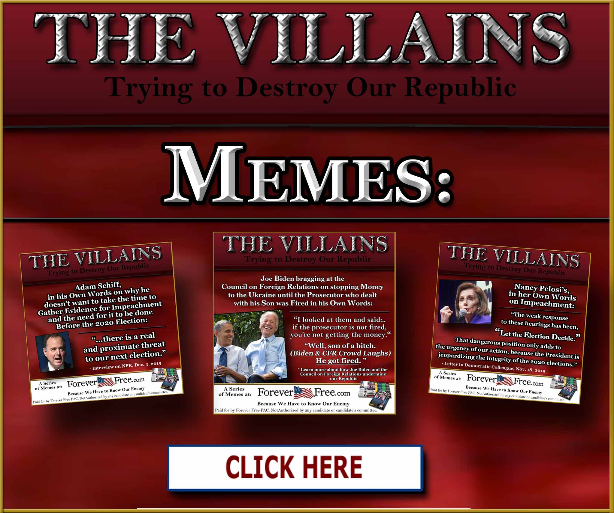 The Villains Memes